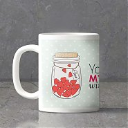 Jar Full of Love Personalized Love Mug