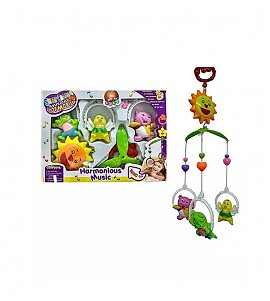 Musical Hanging Cot Mobile With 5 Rattles - (Color & Design May Varry)