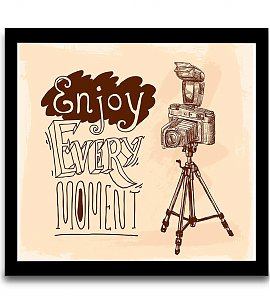 Enjoy every moment wall art