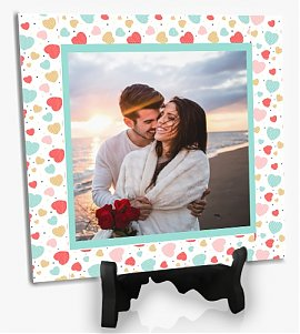 Lovely Happy Couple Personlized Tiles