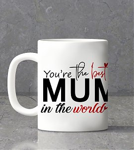 You're the Best Mom Personalized Mug