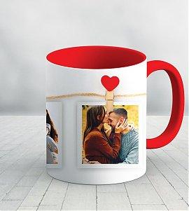Love collage personalized mug