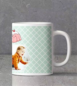 Cute baby personalized mug