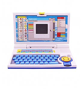 Educational Laptop with 20 Activities and Games