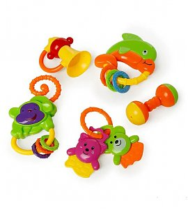 Baby's Friend Rattle (Pack of 5) color may be varry