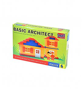 Peacock Smart Blocks Basic Architect - 180 Pieces