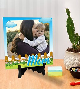 The Best Mom Personalized Tile