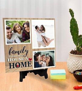 Family Make House Personalized Tiles