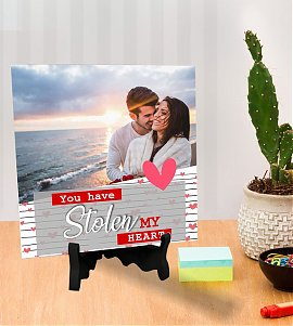 Stolen Love Heart Personalized Tiles