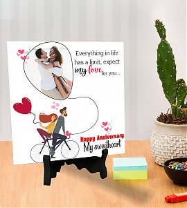 Newly Happy anniversary  Personalized Tiles