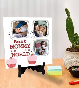 Best Mom In the World Printed Tiles