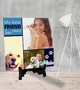 Personalized pet memories Tiles