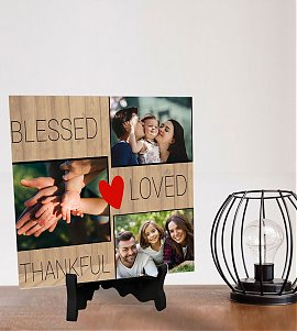 Small Happy Family  Personalized Tiles