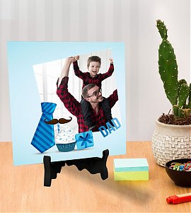Best dad personalized Tiles