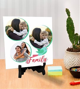 Happy Family  Personalized tiles