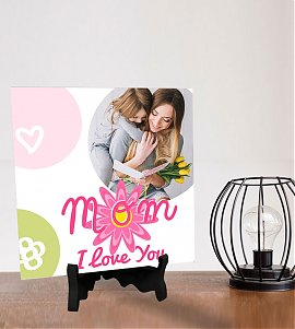 Lovely Mom Personalized Tiles