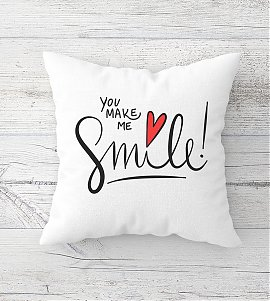Inspirational Quote Printed  Cushion
