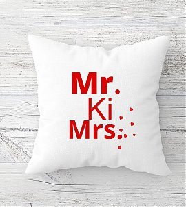 Mr ki Mrs  Cushion