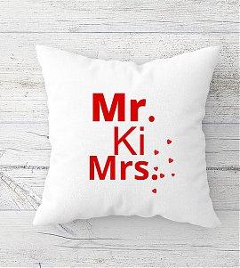 Mr ki Mrs  Cushion