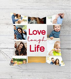 Live Lough Life personalized cushion