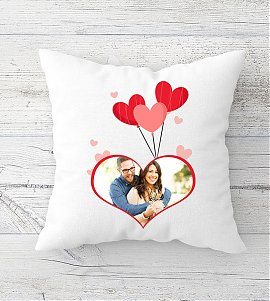 Lovely Couple  Personalized Cushion