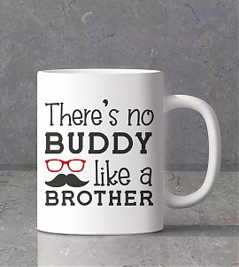 Buddy  Like a brother personalized mug