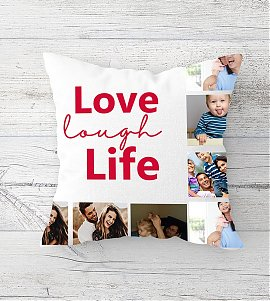 Complete Happy Family Cushion