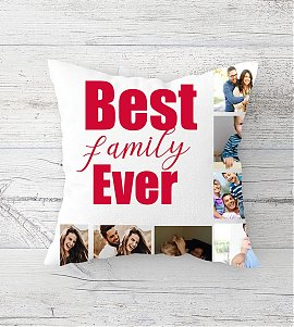 Family memories Personalized cushion