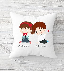 Perfect Pair Personalized Cushion