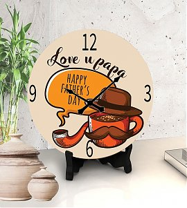 Delightful PFather's day Clock