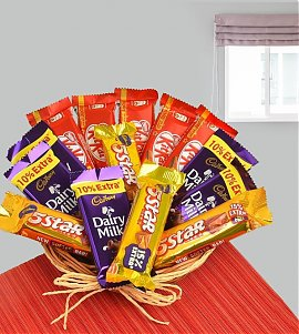 Sweetness of Chocolate Basket