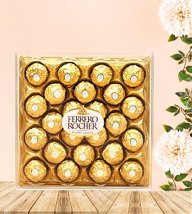 Box of Delicious Ferrero Rocher Chocolates (24 pcs)