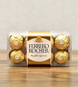 Box of Delicious Ferrero Rocher Chocolates (16 pcs)
