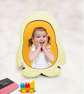 Kids Penguin Shape Photoframe