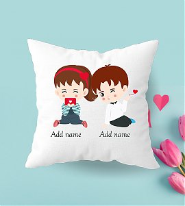Perfect Pair Personalized Cushion | Valentine day gift