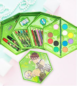 46 Pieces Color Kit with Benton hexagon Box