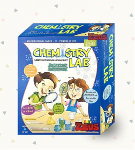 Chemistry Lab DIY Kit - For 8+ Year Children