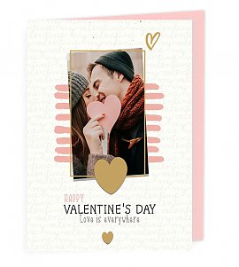 Personalised Valentine Greeting Card