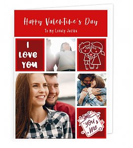 Valentine Memories  Greeting Card