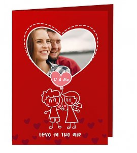 Love in the Air Greeting Card