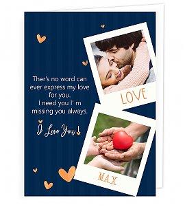 Memories Love Greeting Card