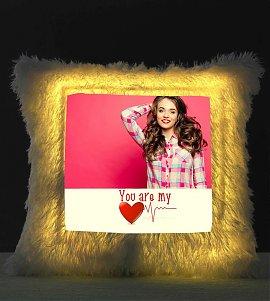 You are my Heart Beat Personalized LED Cushion LED Cushion
