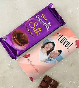 Personalised Cadbury Dairy Milk Silk
