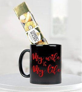My Thoughts – Mug with Ferrero Rocher Chocolates