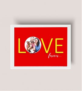 Forever Love Personalized Photo Frame
