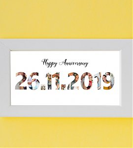 Frame the Date with your Favorite pictures