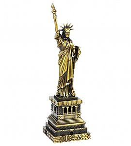 New York City's Collectible Statue of Liberty Decorative Showpiece - 19 cm