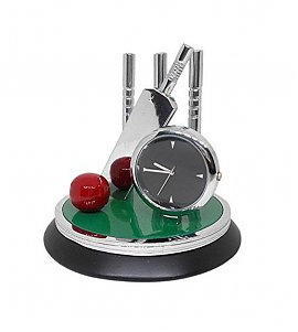 Cricket Showpiece Clock for Office & Home