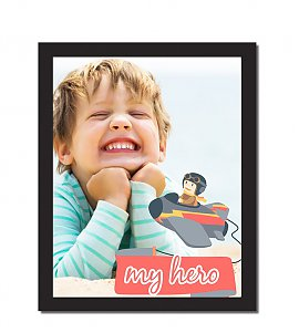 A4  Size Hero Personalized Photoframe
