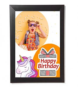 Birthday personalized A3 Photo frame